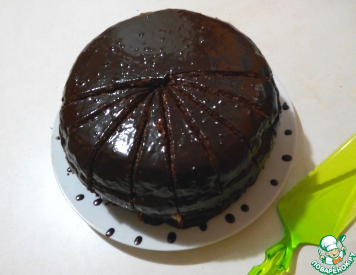 Рецепт: Торт Поцелуй негра