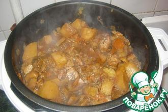 Рецепт: Картофель Праздничный