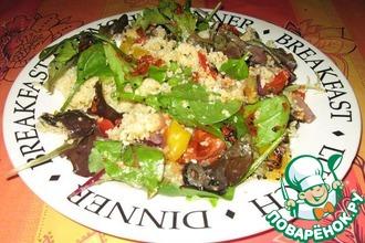Рецепт: Магрибский салат с соусом Харисса
