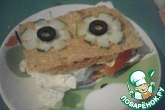 Рецепт: Диетический малоуглеводный хлеб