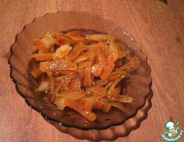 Рецепт: Варенье из апельсиновых корочек
