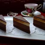 Торт Шоколад-маракуйя