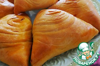 Рецепт: Узбекская слоеная самса