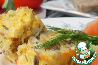 Рецепт: Закуска-горячее Деловая колбаса