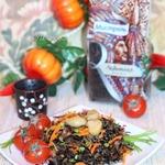 Рис с красным луком
