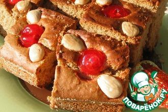 Рецепт: Пряные медовые пирожные