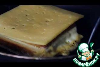 Рецепт: Сэндвич в корочке