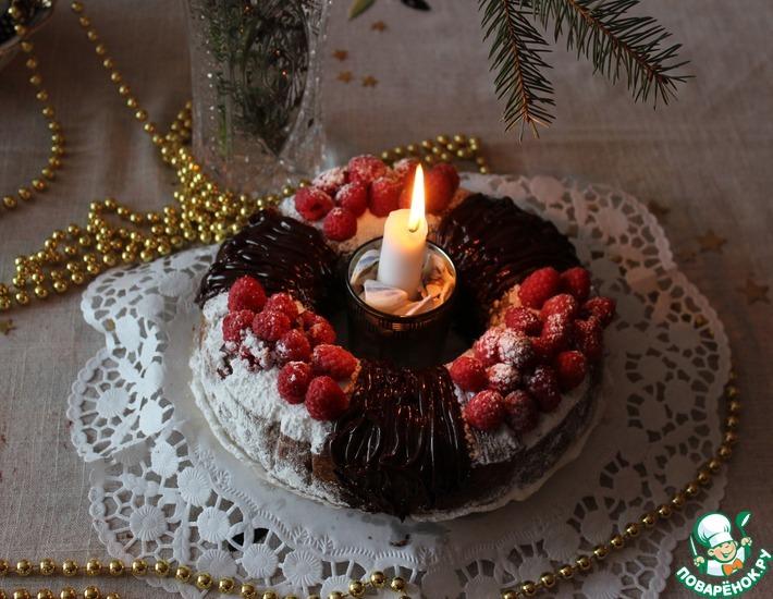 Рецепт: Рождественский веночек
