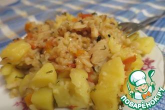 Рецепт: Овощной рис