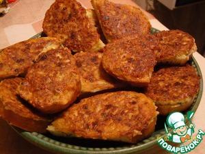 """Горячие бутерброды """"Маски"""" – кулинарный рецепт"""