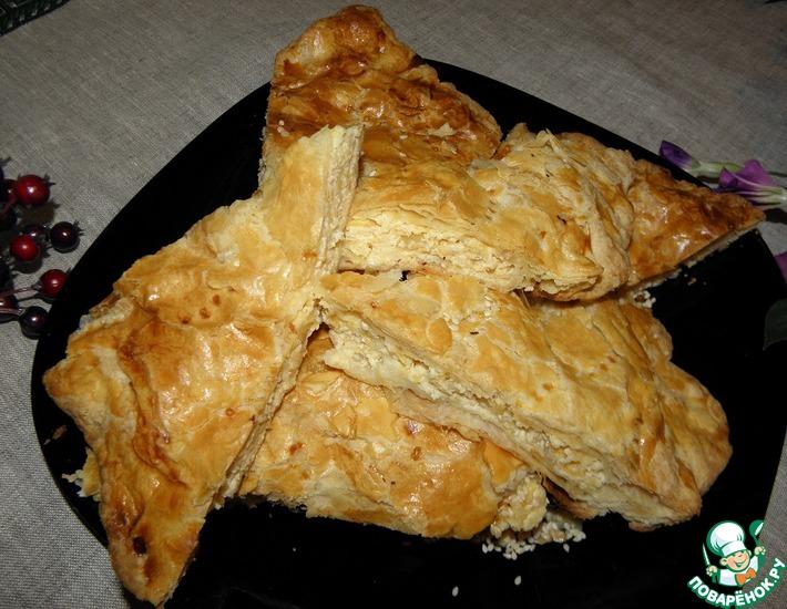 Рецепт: Сырный пирог Взрыв из сыра