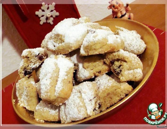 Рецепт: Печенье Мини-штоллен