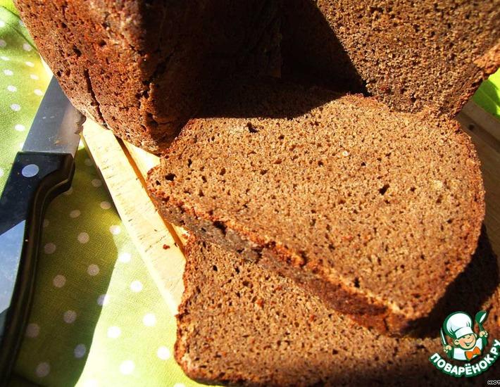 Рецепт: Бородинский хлеб на советской ржаной закваске