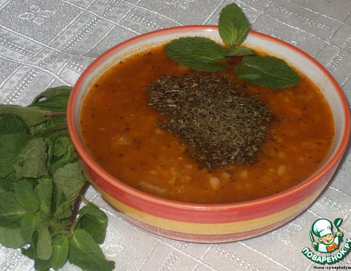 Рецепт: Турецкий суп невесты