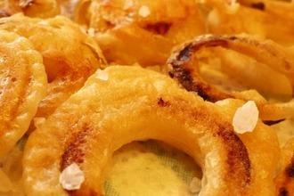 Рецепт: Луковая закуска Золотые кольца