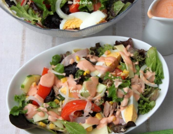 Рецепт: Шеф-салат