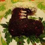 Салат Рождественский сапожок