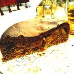 Кофейно-фруктовый пирог в мультиварке