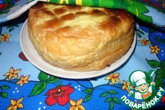 Рецепт: Фаршированный хлеб
