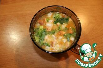 Рецепт: Гороховый суп с копчёностями