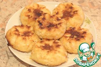 Рецепт: Сырники в духовке без муки