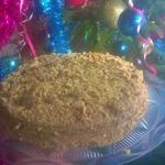 Вишневый торт на сковороде – кулинарный рецепт