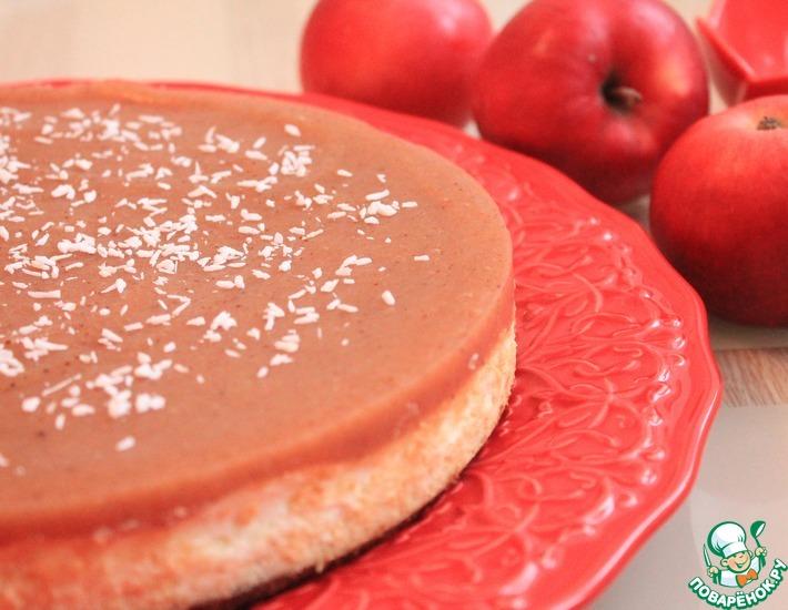 рецепты чизкейк из яблок