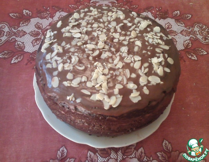 Рецепт: Шоколадный торт в мультиварке