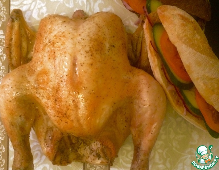Рецепт: Низкотемпературная курица