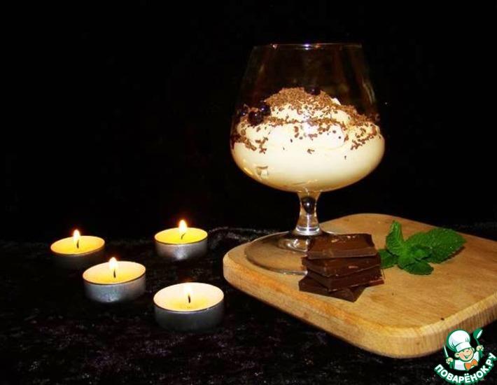 Рецепт: Мусс из арахисовой пасты