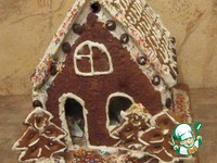Пряничный домик для именинника ингредиенты