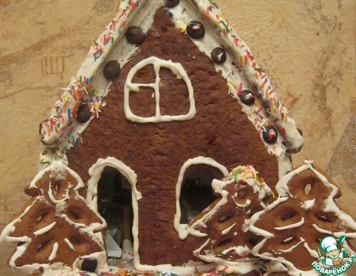 Рецепт: Пряничный домик для именинника