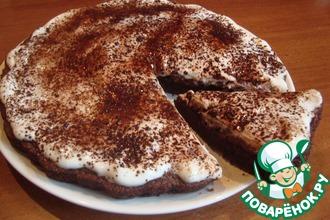 Рецепт: Лёгкий торт Тает во рту