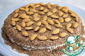 Рецепт: Сметанный торт на сковороде