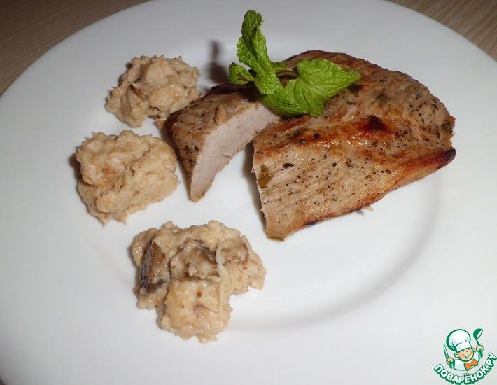 Рецепт: Мясо с хлебным соусом