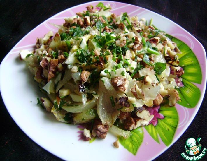 Рецепт: Луковый салат