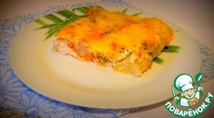 Рецепт Куриный фарш под картофельной шубкой