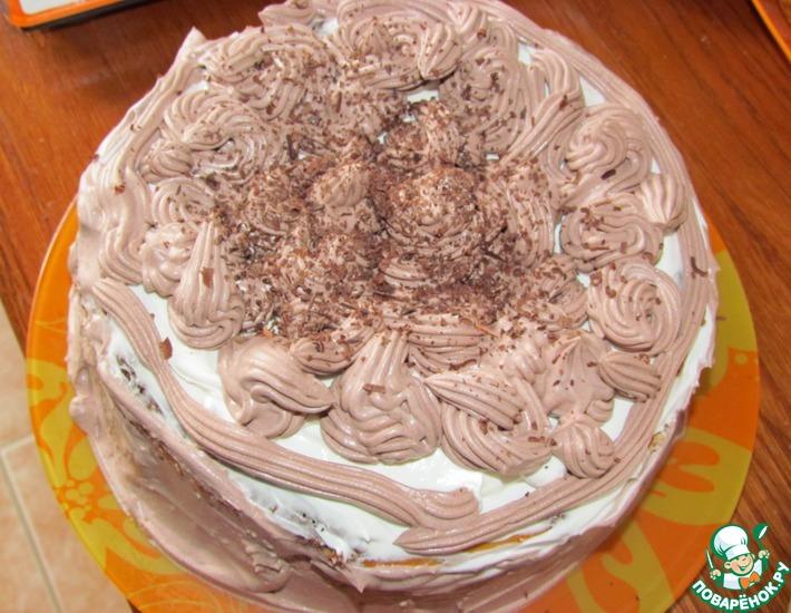Рецепт: Чизкейк Шоколадное безумие