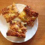 Пицца с жидким дрожжевым тестом