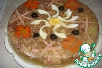 Рецепт: Заливное мясо