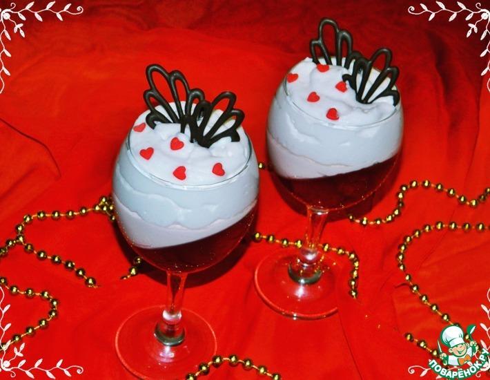 Рецепт: Творожно-клубничный десерт