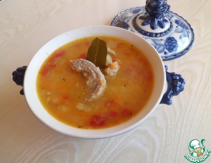 Рецепт: Суп из красной чечевицы