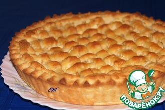 Рецепт: Итальянский торт Хлеб и яблоки