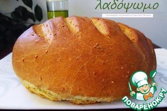 Рецепт: Хлеб на оливковом масле