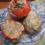 Тефтели и фаршированные овощи