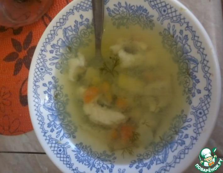 Рецепт: Суп из судака