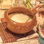 Домашнее топленое молоко
