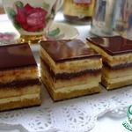 Торт Опера мятная