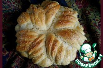 Рецепт: Праздничный хлеб