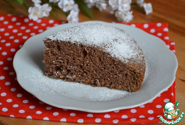 Тыквенный шоколадный пирог в мультиварке